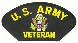 US Army Veteran Patches